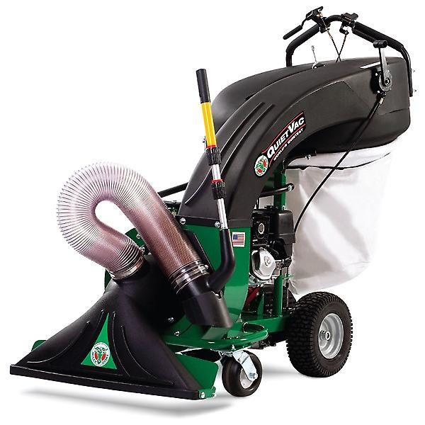 Billy Goat QV550 Briggs Petrol Push Quiet Garden Vac