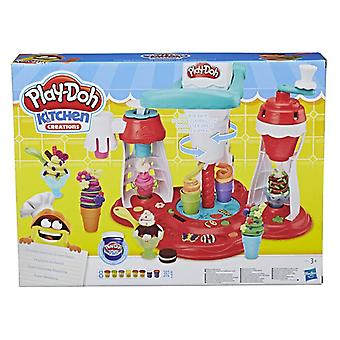 Play Doh Kitchen Creations Ultimate Swirl Ice Cream Maker Toys