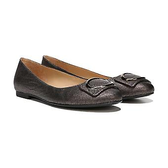 Naturalizer Womens Geonna Leather Round Toe Loafers