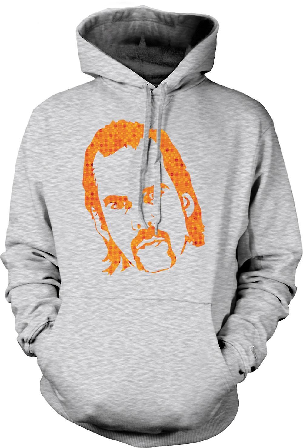 Mens Hoodie - Nick Cave portret