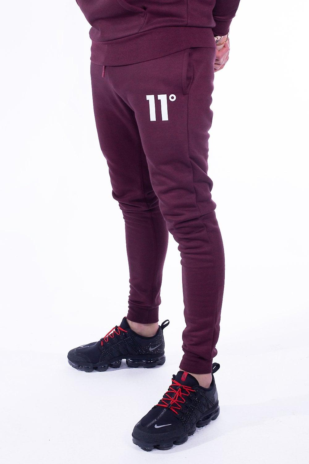 11 Degrees Core Skinny Joggers - Ruby Marl