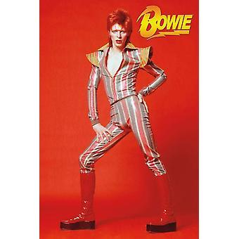 Poster - Studio B - 24X36 David Bowie - Glam Wall Art N241423
