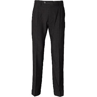Henbury - Polyester Single Pleat Herren hose