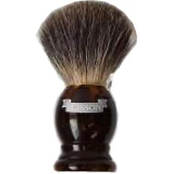 Badger vagtler grå hårstørrelse 10-V bedste Blaireau hår
