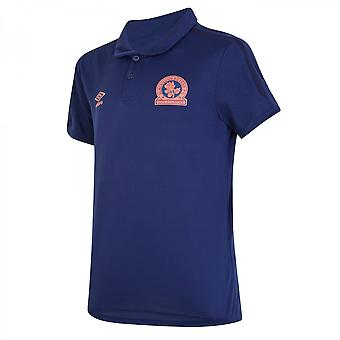 2019-2020 Blackburn Umbro Poly Polo Shirt (Blue)