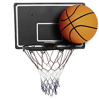 Charles Bentley Basketball Ring Net And Ball Set for Basketball for Indoor / Outdoor All Year Round Use - Size 7