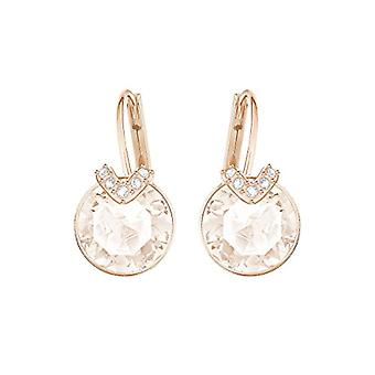 Swarovski Earrings Bella V - pink - rose gold-plated
