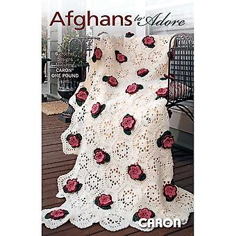 Leisure Arts Afghans To Adore One Pound La 75276