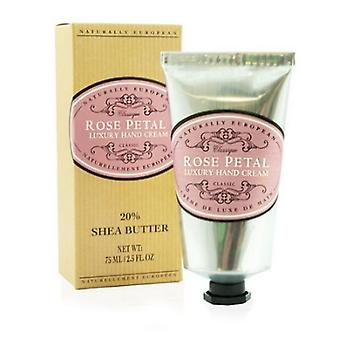 Naturally European luxury hand rose petal 75ml