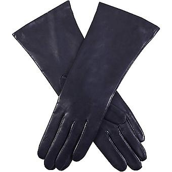Dents Helene Cashmere Lined Hairsheep Leather Gloves - Navy