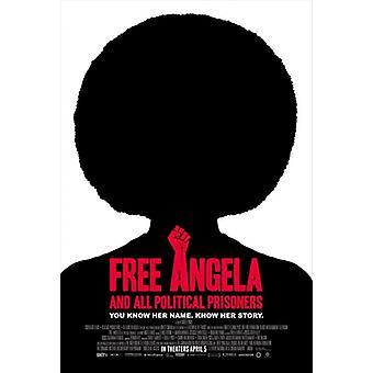 無料のアンジェラ ・すべての政治囚人の映画のポスター (11 x 17)