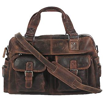 Greenland Montana leather business bag XL 114-25