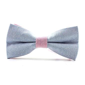 Snobbop-bound fly light blue pink ribbon cotton