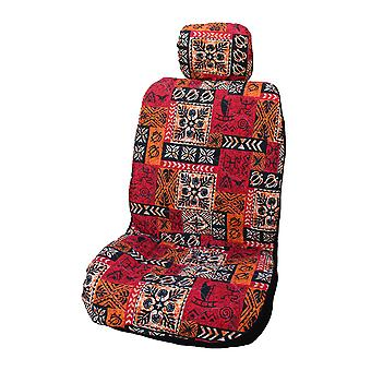 Side Airbag Optional; Old Tapa Separate Headrests Hawaiian Car Seat Covers