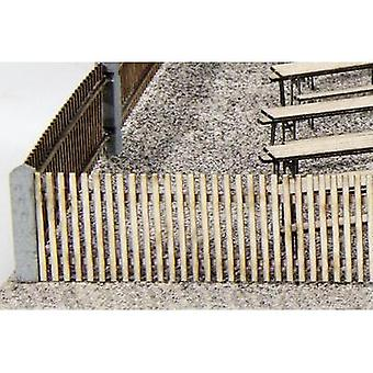 MBZ 80013 H0 Garden fence Assembly kit, Unpainted