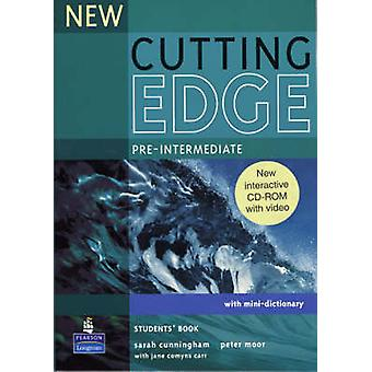New Cutting Edge PreIntermediate Students Book and CDROM Pack by Sarah Cunningham & Peter Moor & Frances Eales