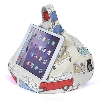 iBeani iPad, Tablet & eReader Bean Bag Stand / Cushion - VW Camper Van