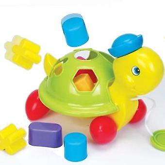 Funtime Turtle Shape Sorter Pull Along Learn and Play Baby Toy 12+ months