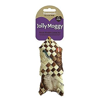 Jolly Moggy Woven Wonders Catnip Feather Fish (Pack of 3)