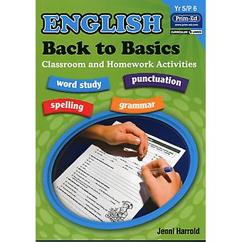 English Homework: Bk. E: Back to Basics Activities for Class and Home (Paperback) by Harrold Jenni