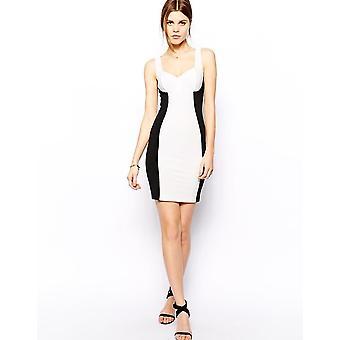 ASOS Panel Rib Bodycon Dress