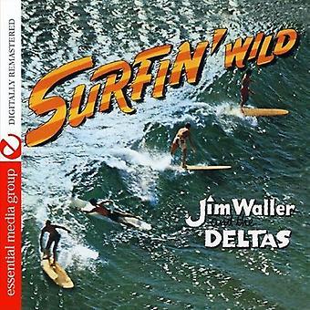 Jim Waller & deltaer - Surfin ' vilde [CD] USA importerer