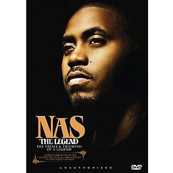 NAS - legenden [DVD] USA importerer