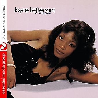 Joyce Leftenant - It's Too Late! [CD] USA import