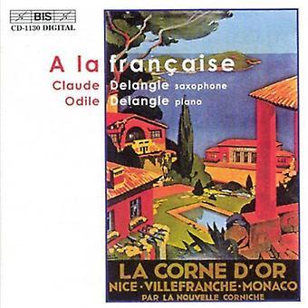 Claude Delangle & Odile - A La Fran A.i.s.e. [CD] USA import