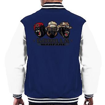 Gorilla Warfare Men's Varsity Jacket