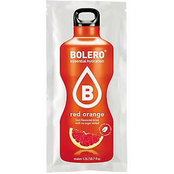 Bolero Drinks Red Orange con Stevia Caja 24 Unidades
