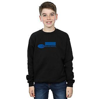 ブルーノート レコード少年シンプルなロゴ スウェット シャツ