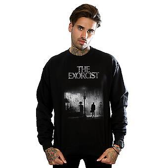 The Exorcist Men's Mono Distressed Poster Sweatshirt