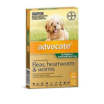 Advocate 3 Pack Small Dogs under 4kg