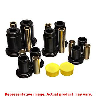 Energy Suspension Control Arm Bushing Set 4.3150G Black Front Fits:FORD 1992 -