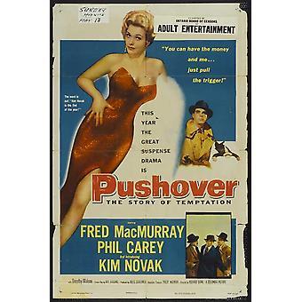 Pushover filmaffisch (11 x 17)