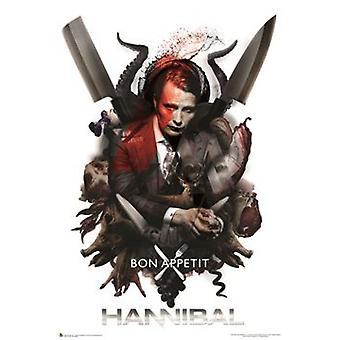 Hannibal - Bon Appetit Poster Poster Print