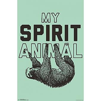 Snorg Tees - spirito animale Poster Poster Print