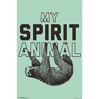 Snorg Tees - Spirit Animal Poster Poster Print