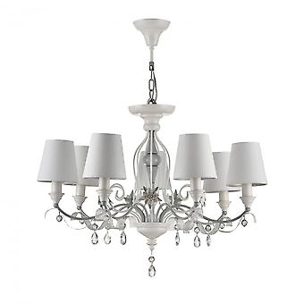 Maytoni Lighting Floret Elegant Collection Chandelier , White