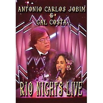 Jobim, Antonio Carlos - Rio nætter Live [DVD] USA import