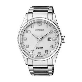 Citizen Herrenuhr Eco-Drive Super Titanium (BM7360-82A)