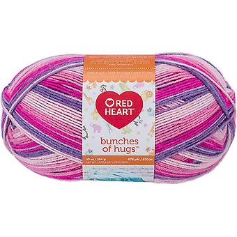 Red Heart Bunches Of Hugs Yarn-Fairy Tale E866-6358