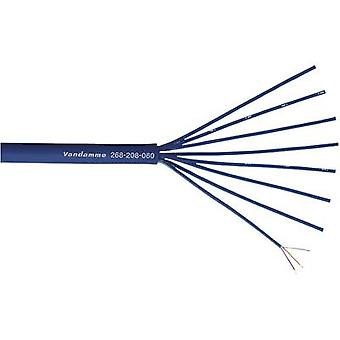 Microphone cable Blue VanDamme 268-208