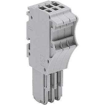 WAGO 2020-115 X-COM S-SYSTEM MINI 1-conductor Receptacles 0.14 - 1.5 mm² Grey 1 pc(s)