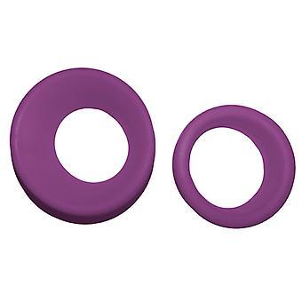 Groom Professional Rubber Scissor Inserts Purple