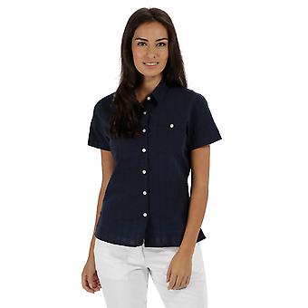 Regatta Womens/Ladies Jerbra Coolweave Cotton Short Sleeve Shirt