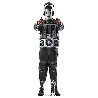 Mondassian Cyberman Doctor Who Lifesize Cardboard Cutout / Standup