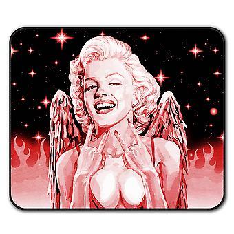 Angel Woman Star  Non-Slip Mouse Mat Pad 24cm x 20cm | Wellcoda