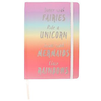 Something Different Rainbow Notebook